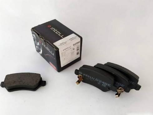 Dafmi D246E - Тормозные колодки, дисковые car-mod.com