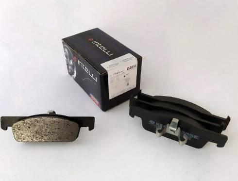 Dafmi D285E - Тормозные колодки, дисковые car-mod.com