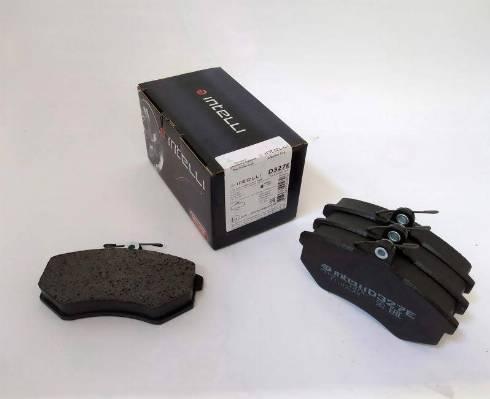 Dafmi D327E - Тормозные колодки, дисковые car-mod.com