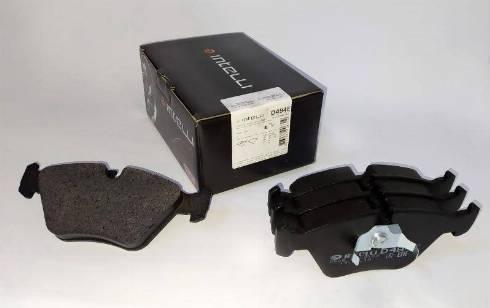 Dafmi D494E - Комплект тормозных колодок, дисковый тормоз autodnr.net