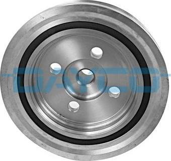 Dayco DPV1070 - Ремінний шків, колінчастий вал autocars.com.ua