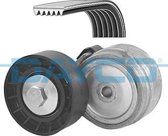 Dayco KPV038 - Поликлиновый ременный комплект avtokuzovplus.com.ua