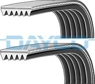 Dayco PVE003 - Поликлиновый ременный комплект car-mod.com