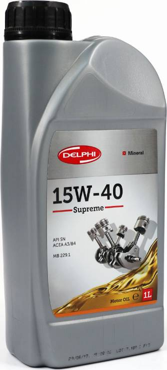 Delphi 2795877 - Моторное масло avtokuzovplus.com.ua