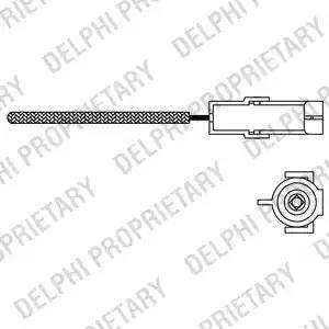 Delphi es10966-12b1 - Лямбда-зонд autodnr.net