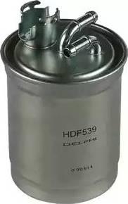 Delphi HDF539 - Паливний фільтр autocars.com.ua