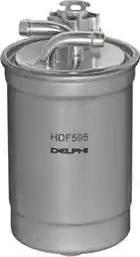 Delphi HDF595 - Паливний фільтр autocars.com.ua