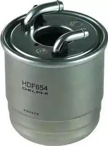 Delphi HDF654 - Паливний фільтр autocars.com.ua