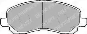 Sangsin Brake SP1360 - Тормозные колодки, дисковые car-mod.com