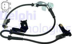 Delphi SS20394 - Датчик ABS, частота вращения колеса autodnr.net
