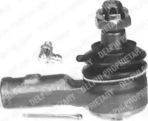 Delphi TA1501 - Наконечник рулевой тяги, шарнир car-mod.com