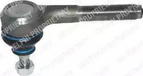 Delphi TA1681 - Наконечник рульової тяги, кульовий шарнір autocars.com.ua