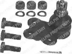 Delphi TC397 - Шаровая опора, несущий / направляющий шарнир car-mod.com