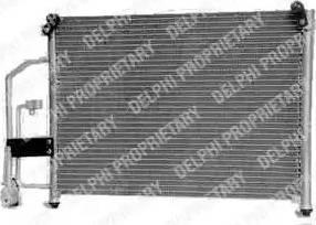 Delphi TSP0225252 - Конденсатор, кондиционер car-mod.com