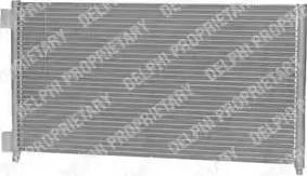 Delphi TSP0225500 - Конденсатор, кондиционер car-mod.com