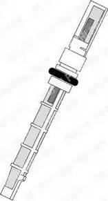 Delphi TSP0695190 - Расширительный клапан, кондиционер avtokuzovplus.com.ua