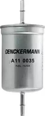 Denckermann A110035 - Паливний фільтр autocars.com.ua