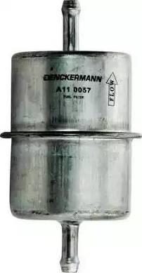 Denckermann A110057 - Паливний фільтр autocars.com.ua