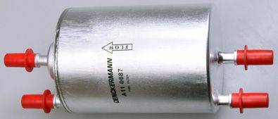 Denckermann A110687 - Паливний фільтр autocars.com.ua