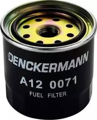 Denckermann A120071 - Паливний фільтр autocars.com.ua