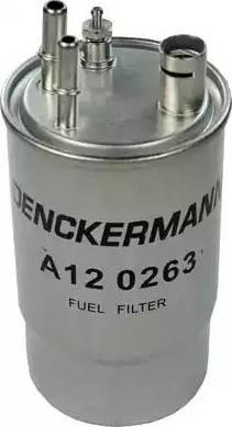 Denckermann A120263 - Паливний фільтр autocars.com.ua