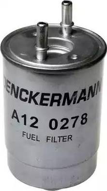 Denckermann A120278 - Паливний фільтр autocars.com.ua