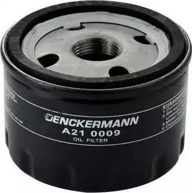 Denckermann A210009 - Масляний фільтр autocars.com.ua