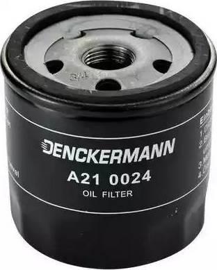 Denckermann A210024 - Масляний фільтр autocars.com.ua
