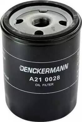 Denckermann A210028 - Масляний фільтр autocars.com.ua