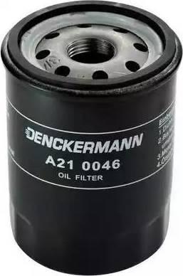 Denckermann A210046 - Масляный фильтр autodnr.net