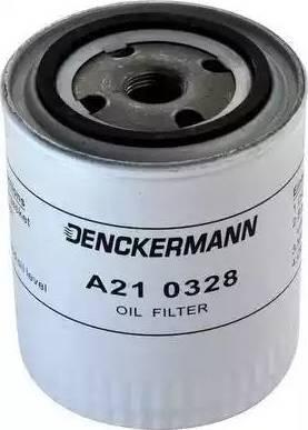 Denckermann A210328 - Масляний фільтр autocars.com.ua