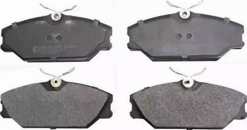 Denckermann B110653 - Тормозные колодки, дисковые car-mod.com