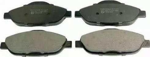 Denckermann B111027 - Тормозные колодки, дисковые car-mod.com