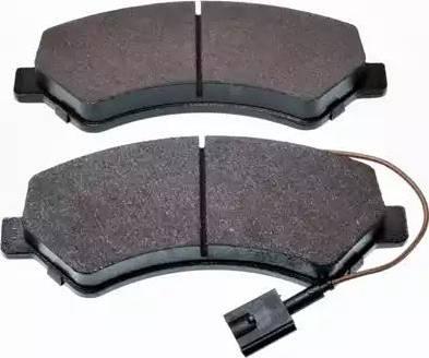 Denckermann B111038 - Тормозные колодки, дисковые car-mod.com