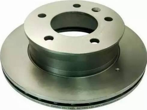 Denckermann B130039 - Тормозной диск autodnr.net