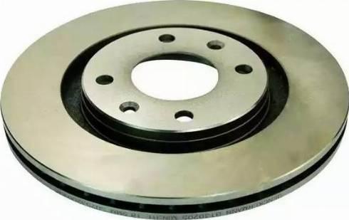 Denckermann B130205 - Тормозной диск autodnr.net