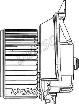 Denso DEA09203 - Вентилятор салона car-mod.com