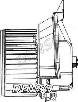Denso DEA20200 - Вентилятор салона car-mod.com