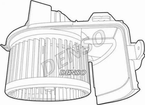 Denso DEA23004 - Вентилятор салона car-mod.com