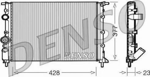 Denso DRM23008 - Радиатор, охлаждение двигателя car-mod.com