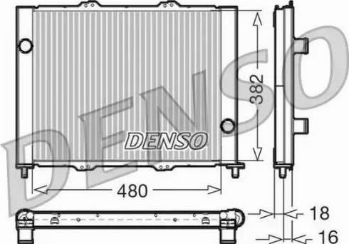 Denso DRM23099 - Модуль охлаждения avtokuzovplus.com.ua