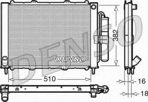 Denso DRM23103 - Модуль охлаждения car-mod.com