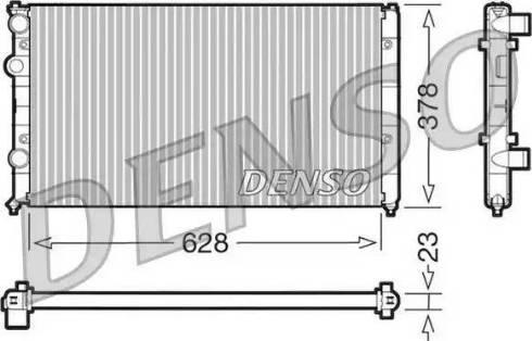Denso DRM32035 - Радиатор, охлаждение двигателя car-mod.com