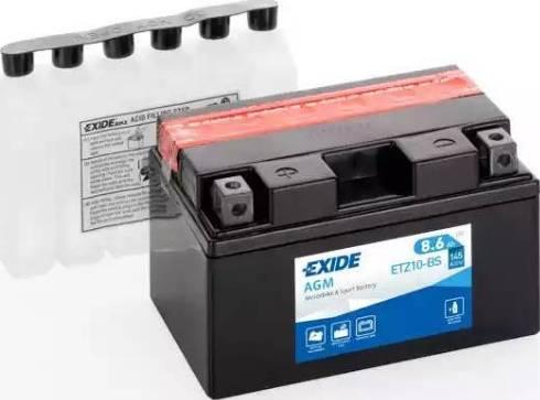 DETA ETZ10-BS - Стартерная аккумуляторная батарея car-mod.com