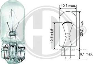 Diederichs LID10078 - Лампа, входное освещение car-mod.com