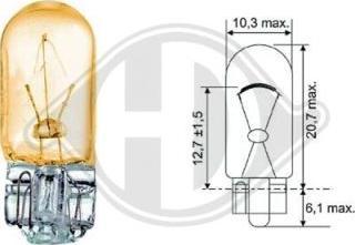 Diederichs LID10079 - Лампа, входное освещение car-mod.com