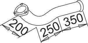Dinex 52143 - Труба выхлопного газа autodnr.net