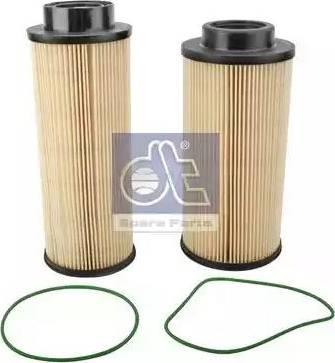 DT Spare Parts 1.12274 - Паливний фільтр autocars.com.ua