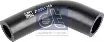 DT Spare Parts 119180 - Гидравлический шланг, рулевое управление avtokuzovplus.com.ua