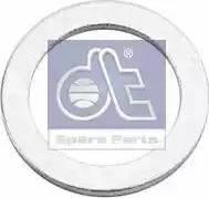 DT Spare Parts 9.01006 - Уплотнительное кольцо, резьбовая пробка маслосливного отверстия car-mod.com